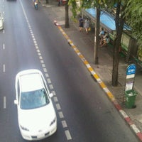 Photo taken at ป้ายรถเมล์หน้า TOT by titan M. on 1/15/2012