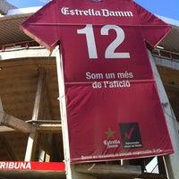 Photo taken at Nou Estadi by Joan Carles G. on 8/8/2011