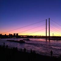 Photo taken at Rheinufer by Pedro C. on 10/15/2011
