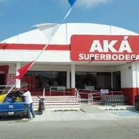 Photo taken at AKA Super Bodega by ! Poio M. on 11/7/2011