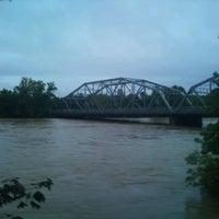Photo taken at South Washington Street Bridge by J W. on 9/21/2011