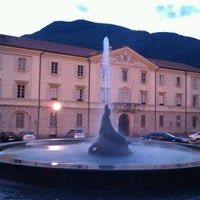 Photo taken at Piazza della Foca by David B. on 5/15/2011