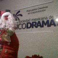 Photo taken at Sociedad Mexicana de Psicodrama by Roberto R. on 11/23/2011