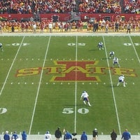 Photo taken at Jack Trice Stadium by Paul S. on 11/5/2011