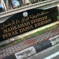 Photo taken at Mahkamah Syariah Ipoh by Lia M. on 11/17/2011