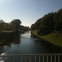 Photo taken at Wilhelminabrug over de Dommel by MSO on 10/15/2011