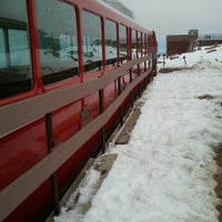 Photo taken at Pikes Peak Cog Railway by Sarah K. on 9/18/2011