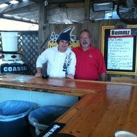 Photo taken at Bummz Beach Cafe by Nikki D. on 10/21/2011