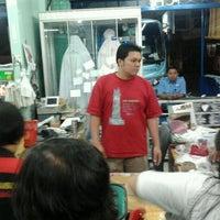 Photo taken at Keripik Balado Christine Hakim by rizkita p. on 12/28/2011