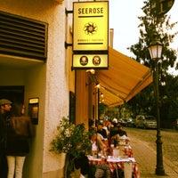 Photo taken at Seerose - Birreria e Trattoria by Chris v. on 6/14/2012