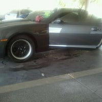 Photo taken at Danny's Family Car Wash by Brandi F. on 9/30/2011