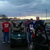 Photo taken at Brandon Golf Course by Jacey H. on 10/23/2011