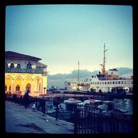 Photo taken at Kadıköy - Beşiktaş / Adalar Vapur İskelesi by serdarileri on 1/26/2012