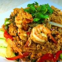 Photo taken at Zen Japanese Thai Cuisine by Belle on 8/23/2012