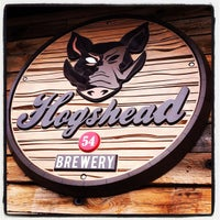 Photo taken at Hogshead Brewery by Jayme B. on 7/15/2012