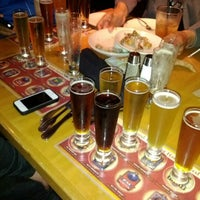 Photo taken at BJ's Restaurant and Brewhouse by Hilde R. on 5/5/2012