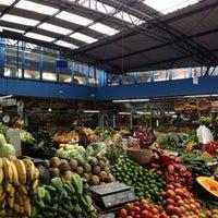 Photo taken at Plaza de Mercado de Paloquemao by Liana A. on 5/12/2012