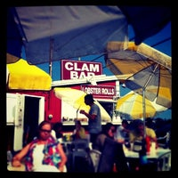Photo taken at The Clam Bar by Paulie D. on 9/3/2011