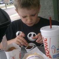 Photo taken at SONIC Drive In by Bethany on 6/18/2012