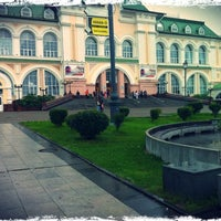 Photo taken at Ж/Д Вокзал Хабаровск-1 by Eliza S. on 8/11/2012