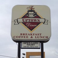 Photo taken at Uptown Diner by Ali E. on 11/13/2011