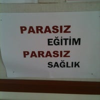 Photo taken at Tıp Fakültesi by İbrahim U. on 1/12/2012
