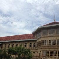 Photo taken at Vimanmek Mansion by It's me on 8/9/2012