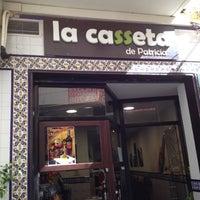 Photo taken at La Casseta de Patricia by Jonas G. on 3/4/2012