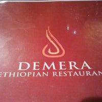 Photo taken at Demera Ethiopian Restaurant by Jose B. on 3/1/2012
