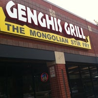 Photo taken at Genghis Grill by Ching Y. on 7/13/2011