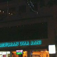 Photo taken at Restoran Uma Rani by Tai S. on 12/31/2011
