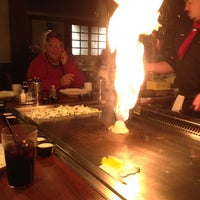 Photo taken at Genji Japanese Steakhouse by Lynn H. on 11/25/2011