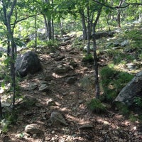 Photo taken at Bull Hill Trail by Zbigniew R. on 7/4/2012