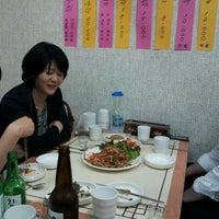 Photo taken at 목포식당 by Seungseon K. on 4/24/2012
