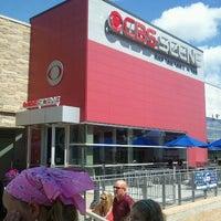 Photo taken at CBS Scene Restaurant & Bar by Anne C. on 9/3/2012