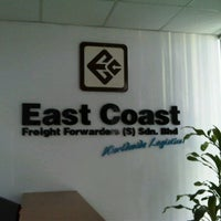Photo taken at East Coast Freight Forwarders (S) Sdn. Bhd. by Muhammad.aredeep A. on 5/21/2012