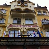 Photo taken at Hotel Romance Puškin by Devrim Mehmet B. on 4/7/2012