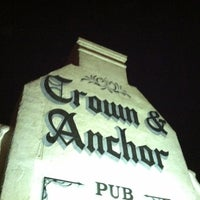 Photo taken at Crown & Anchor Pub by Cameron C. on 7/16/2012
