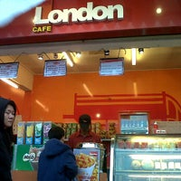 Photo taken at London Cafe by Izza N. on 11/20/2011