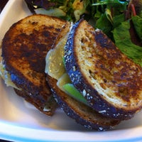 Photo taken at Boudin Bakery Café Embarcadero by Ryan L. on 8/18/2012