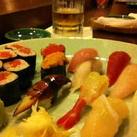 Photo taken at Ege Sushi by Michinaga S. on 2/28/2012