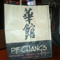 Photo taken at P.F. Chang's by Shelby S. on 3/16/2012