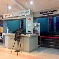 Photo taken at Seoul Art Cinema by oddscar on 7/27/2011