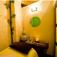 Photo taken at GoGreen Organic Spa by Lifebooker on 12/19/2011