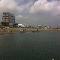 Photo taken at 東扇島東公園 by K K. on 4/16/2011