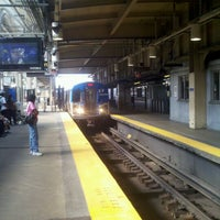 Photo taken at Newark Penn Station - Track 1 by Schneider h. on 9/4/2011