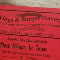 Photo taken at Wings & Burger Haven by @thekencook on 6/20/2012