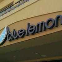 Photo taken at Blue Lemon by Lance S. on 8/25/2012