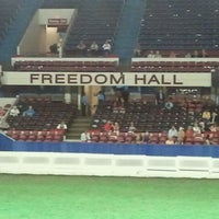 Photo taken at Freedom Hall by Jennifer B. on 8/26/2011