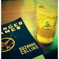 Photo taken at Caribou Coffee by Naomi F. on 8/19/2011